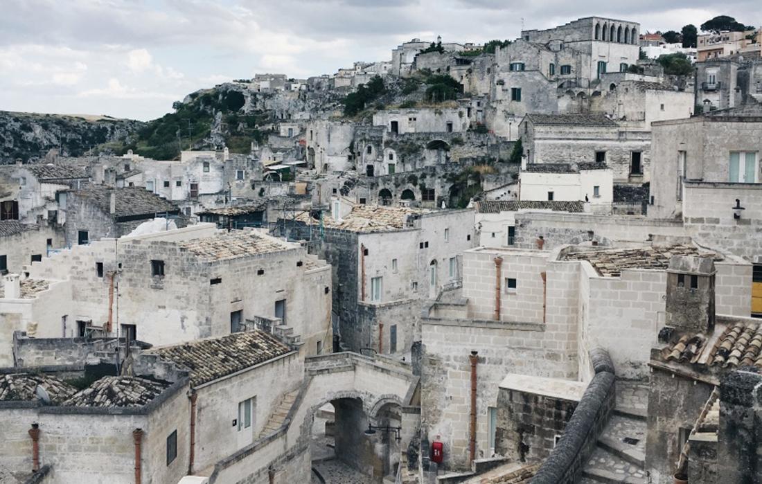 I Sassi di Matera, le tipiche case scavate nella roccia
